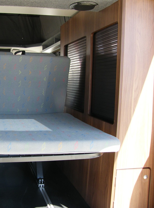 surf van, custom van, interior